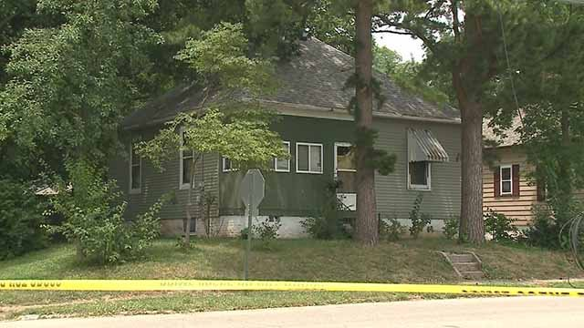 A man died after a standoff with police in Belleville Tuesday afternoon. Credit: KMOV
