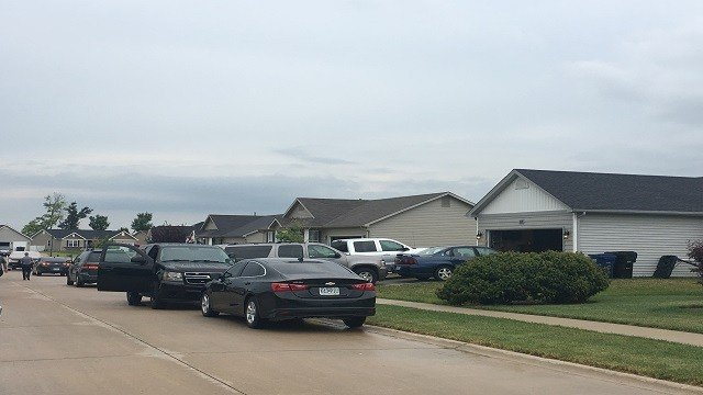 A 3-month-old baby died at a baby sitter's house in Wentzville Wednesday, authorities said. (Credit: KMOV)