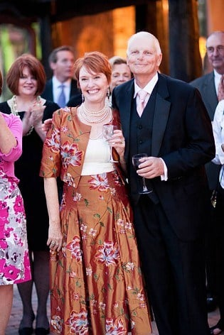 Meghan's mom and dad at her wedding in 2011 (Family Photo)