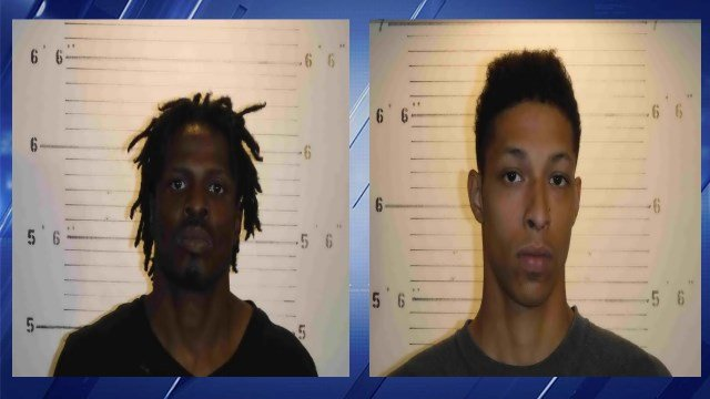 Robert Scales, 40, and Jordan Scales, 20, charged for alleged vehicle burglaries in Illinois. (Credit: St. Clair County Sheriff's Department)