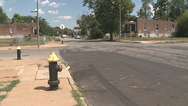 St. Louis police are investigating a homicide that happened in north St. Louison Saturday night.(Credit: KMOV)