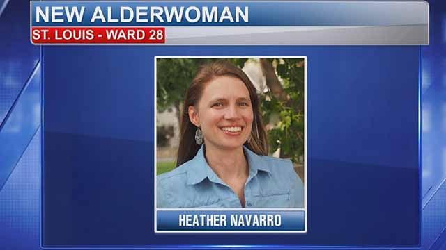 Ward 28 Alderwoman Heather Navarro. Credit: KMOV