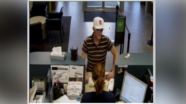 The St. Charles Police Department is asking for the public's help in identifying a man who robbed a Regions Bank Wednesday afternoon. (Credit: St. Charles Police Department)