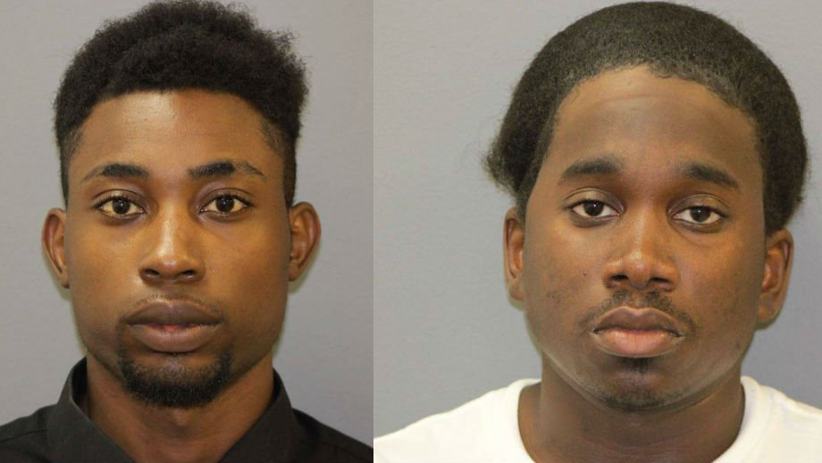 Demarcus J. Sullivan, 22, of East St. Louis (Left) and Ronald C. Edwards, 22, of Belleville (Right). (Credit: Shiloh Police Department)