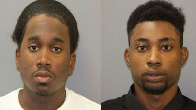 Ronald Edwards (left) and Demarcus Sullivan were arrested and charged with burglary. (Shiloh Police Department)