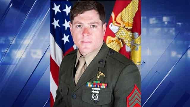 Sgt. Talon Leach (Credit: Twitter/@USMC)