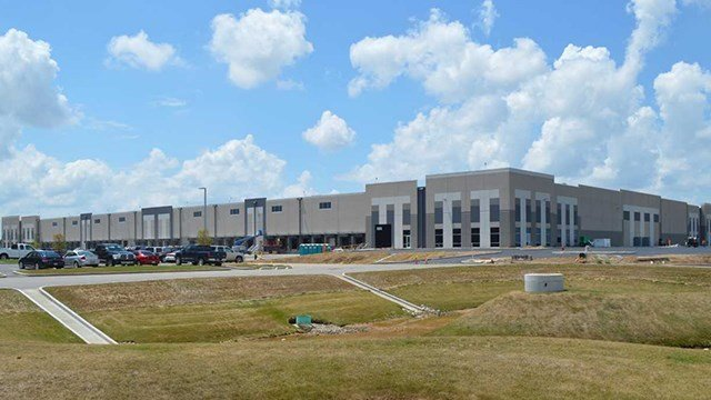 Hazelwood Logistics Center, Amazons first location for doing business in Missouri. (Credit: City of Hazelwood)