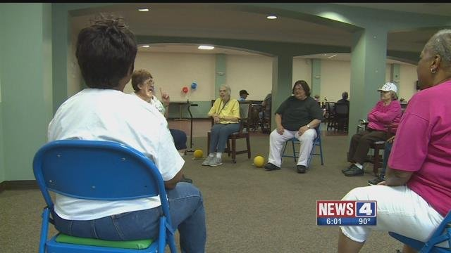 Five Star Senior Center in south St. Louis is providing a cool environment for senior citizens while ensuring their safety during this summer's most brutal heat waves. Credit: KMOV