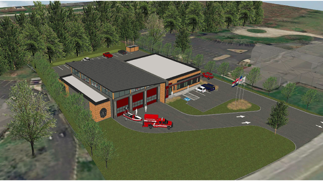 The Lake Saint Louis Fire Protection District will build a new firehouse on Lake Saint Louis Boulevard, consolidating their two houses into one. (Credit: Lake Saint Louis Fire District)
