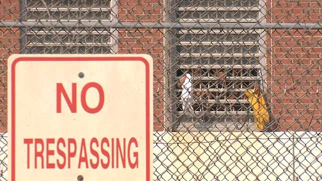 Cries for help dealing with the heat is coming from inmates at the St. Louis Medium Security Institution, also known as the Workhouse. Credit: KMOV