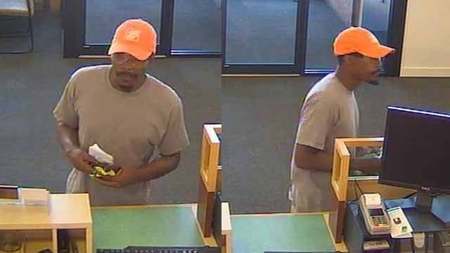 Police say this man robbed a PNC Bank branch in Crestwood on Wednesday morning. Credit: Crestwood PD