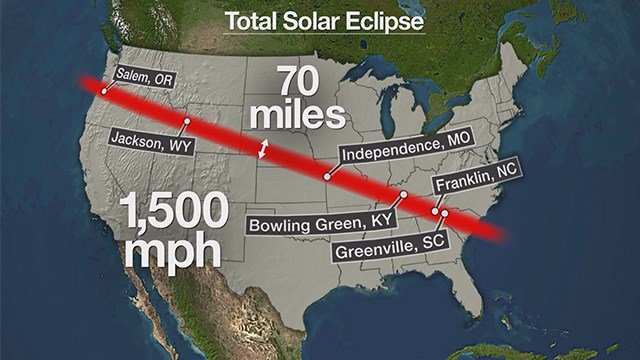 De Soto is estimating 30,000 to 40,000 people will visit their town on August 21, the day of the solar eclipse. (Credit: KMOV)