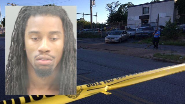 Michael McClendon, 22, is accused of killing 23-year-old Marquis Townsend on June 24. (Credit: Police / KMOV)