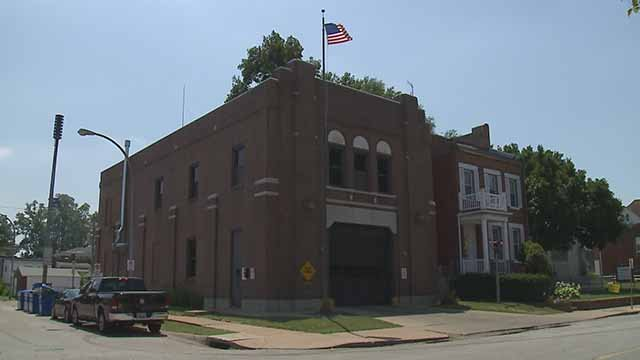 A 14-year-old allegedly stole a truck, purse and pills from Firehouse 23 in South City. Credit: KMOV