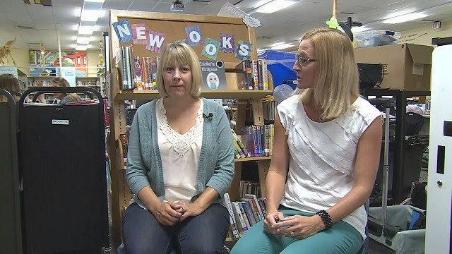 Two Wentzville librarians have written a book designed to provide information on the upcoming solar eclipse. (Credit: KMOV)