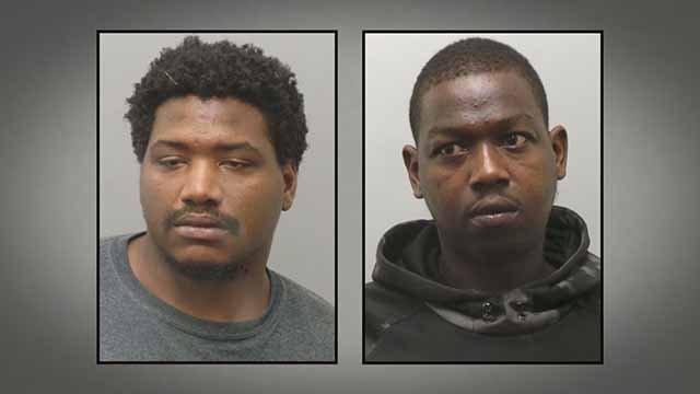 Marty Shaw and Antonio Taylor are charged in connection to an attempted robbery at a Circle K in Affton. Credit: St. Louis County PD.