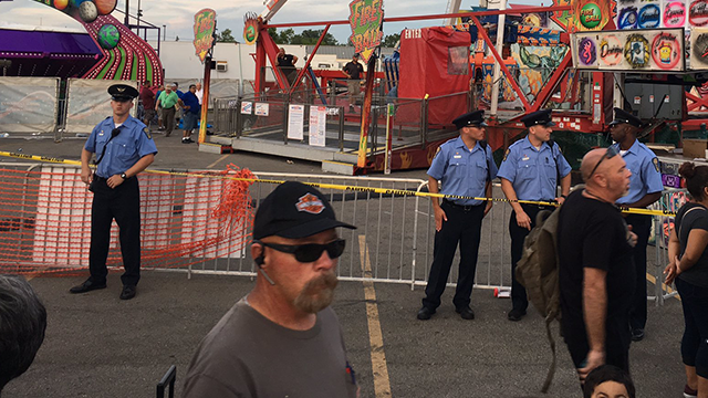 (Source: Twitter/@DjNarkatta) There was a ride malfunction at the Ohio State Fair on Wednesday.
