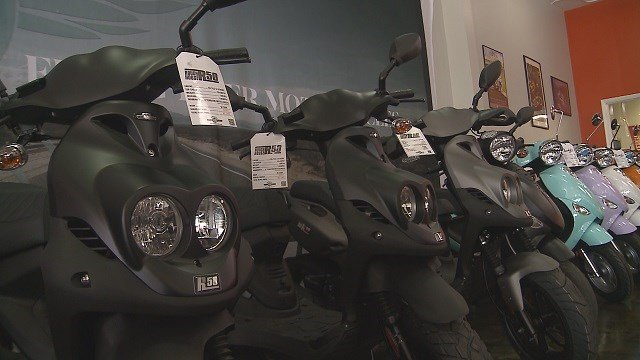 News 4 is tracking scooter theft in South City. (Credit: KMOV)