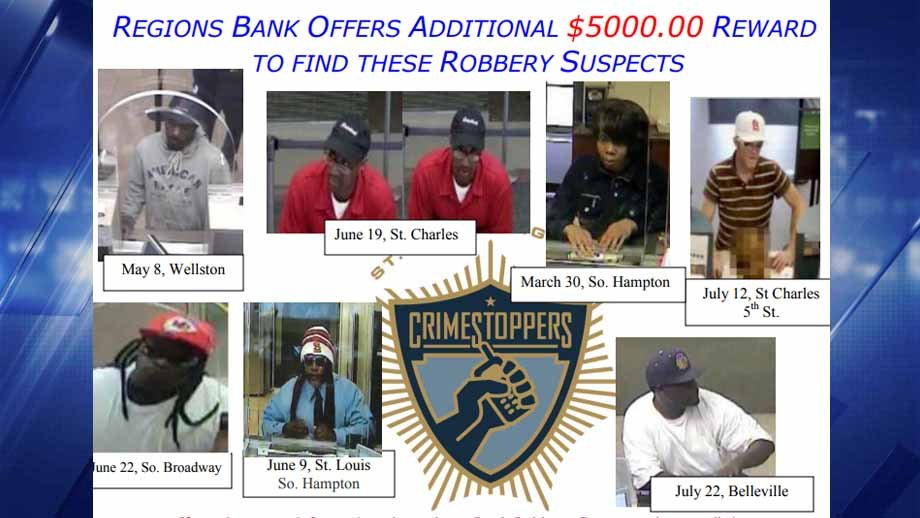A reward of $6,000 could be yours if you have information leading to an arrest of any of these suspects. Credit: CrimeStoppers
