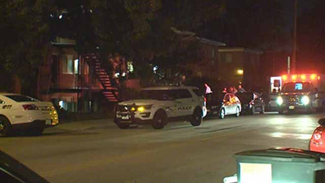 Police say several men carjacked a group of women in the 7200 block of Southwest in Maplewood Sunday night. Credit: KMOV