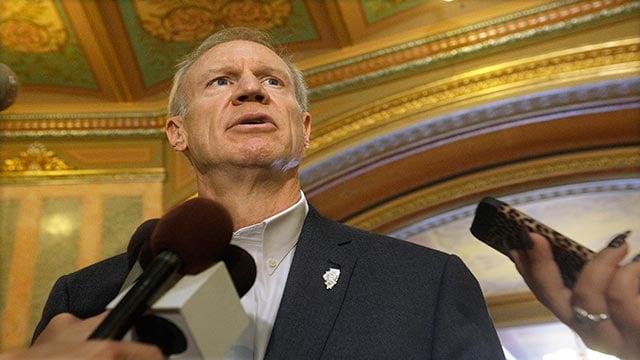 Illinois Gov. Bruce Rauner (Credit: AP)