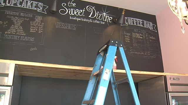 The Sweet Divine is preparing to re-open nine months after a fire gutted the bakery. Credit: KMOV