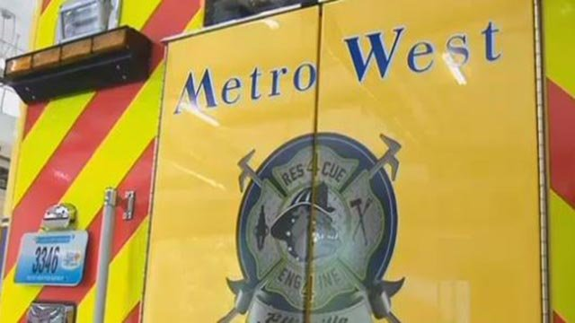 Metro West fire truck (Credit: KMOV)