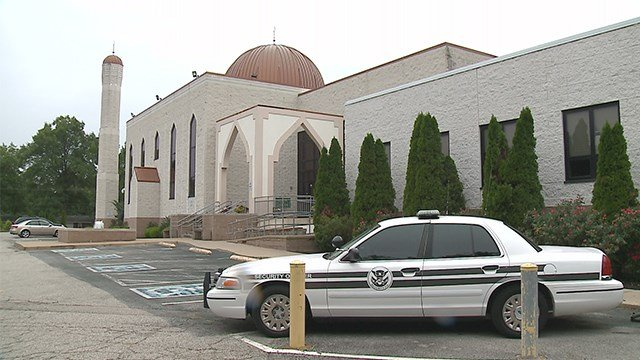The local Muslim community spoke out on Saturday after an explosion occurred at a mosque in Minneapolis. (Credit: KMOV)