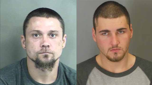 Police were looking for Michael Schultz (L) and Cole White (R). Police say White helped Schultz escape from the Phelps Co. Jail. Credit: Phelps Co. Sheriff