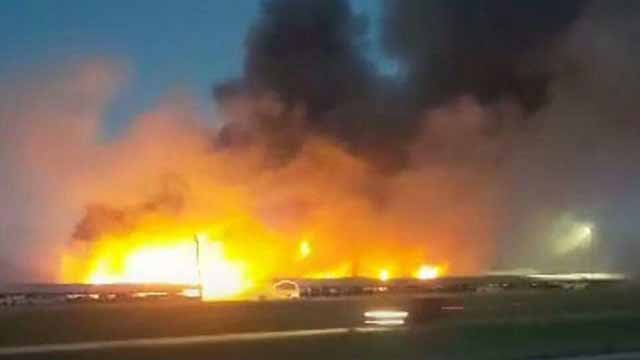 A fire broke out at Country Classic Cars in Staunton, Illinois Tuesday. Credit: Marylin Beechler Harbison