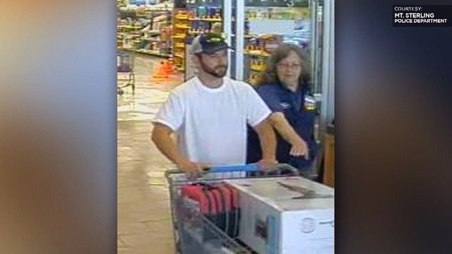 80-year-old Walmart employee is pepper sprayed. Police release suspects' photos
