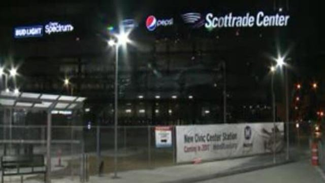 Construction of Civic Center Transit Center (Credit: KMOV)