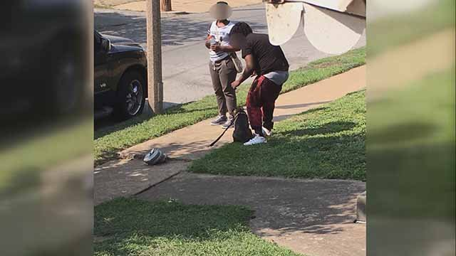 This photo is sparking outrage, but Missouri law says what happening in it is legal. Credit: KMOV