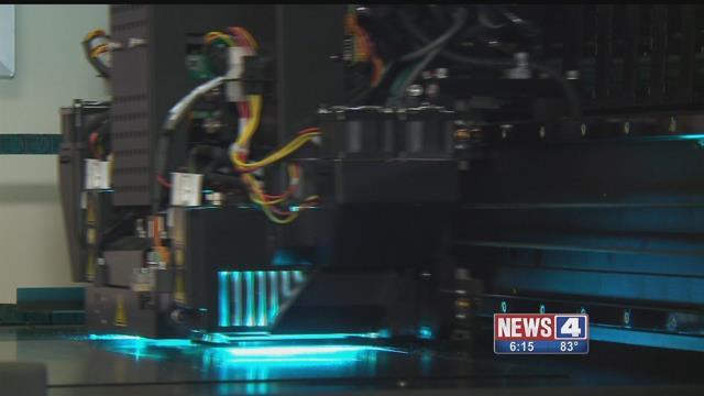 A 3-D printer. Credit: KMOV