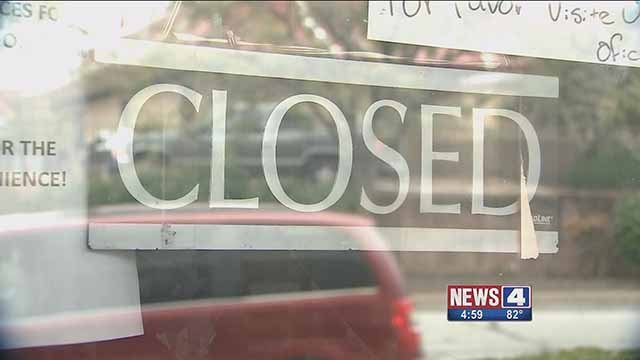 The recent closure of the license office in Chesterfield has meant long lines at the license office in Ballwin. Credit: KMOV