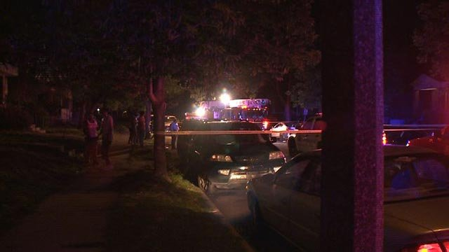A man was shot in the 3900 block of Greer overnight  (Credit: KMOV)