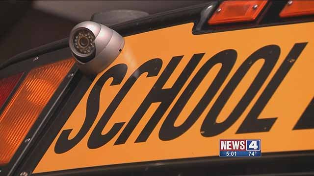 Cameras are being installed on Cahokia School District buses to enhance student safety. Credit: KMOV