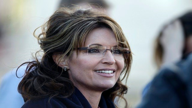 Former Alaska Gov. Sarah Palin listens to guests at a clambake in Seabrook, N.H., Thursday, June 2, 2011. (Credit: AP)