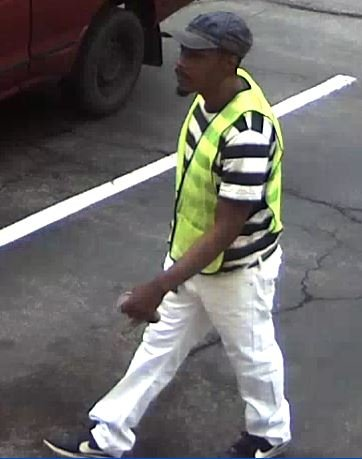 Surveillance photo of a Webster Groves bank robbery suspect (Credit: Police)