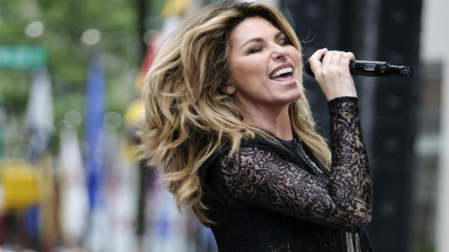 In this June 16, 2017, file photo, Shania Twain performs at Rockefeller Plaza in New York. Shania Twain will headline the opening-night ceremony at the U.S. Open. She will perform Aug. 28 at the Billie Jean King National Tennis Center. (Photo by Charles