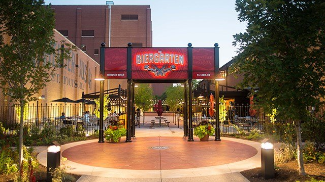 The Biergarten in St. Louis. (Anheuser-Busch)