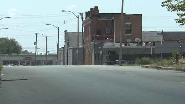 Police are investigating after a man was found shot to death at Vandeventer and North Market on Saturday, August 19, 2017 (Credit: KMOV)