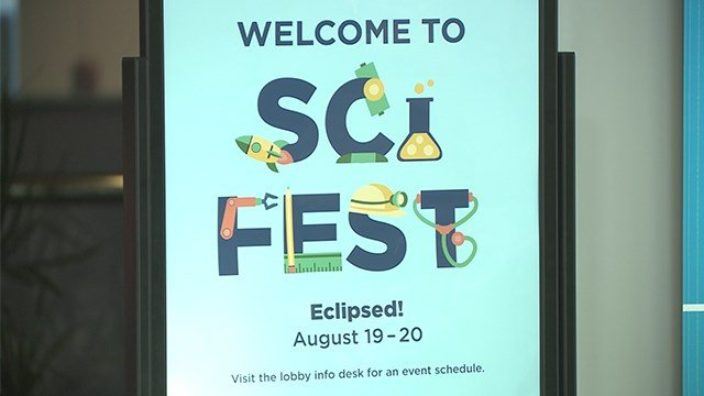St. Louis Science Center holding a two-day Sci-Fest celebration ahead of the total solar eclipse. (KMOV)