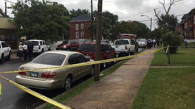 Officer-involved shooting investigation underway in the 5200 block of Ridge Avenue (Credit: Mugo Odigwe / News 4)