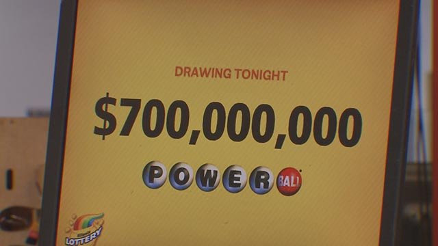 Powerball mania hit the St. Louis region on Wednesday. (Credit: KMOV)