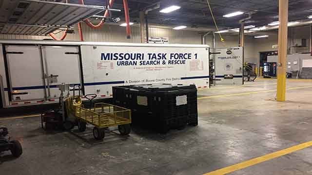 Missouri Task Force 1 has been deployed to Texas to help with Hurricane Harvey relief efforts (Credit: Boone County Fire Protection District/Facebook)