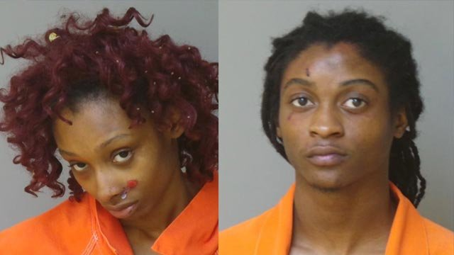 Delmar Dixon and Imani Conley are accused of stealing a woman's purse and car in Florissant (Credit: Florissant Police)