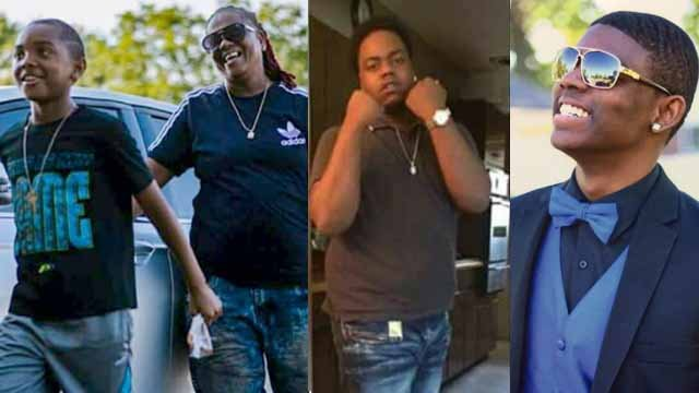 Patricia Steward, 56, Joseph Corley, 20, Deandre Kelley Jr., 18, and 10-year-old Terrence Dehart were shot and killed in North County on August 24. (Credit: St. Louis County Police Department)