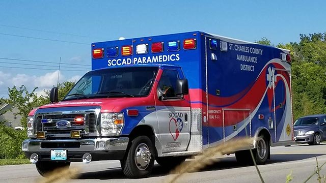 New design for St. Charles County Ambulance District (Credit: SCCAD)