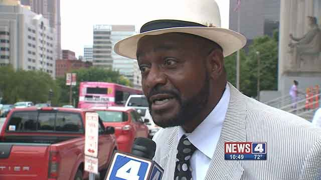 Reginald Williams is accused of illegally evicting tenants. Credit: KMOV